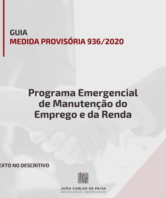 Medida Provisória 936/2020